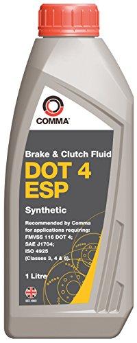 Comma BF4ESP1L DOT 4 ESP Synthetische Bremsflüssigkeit 1L