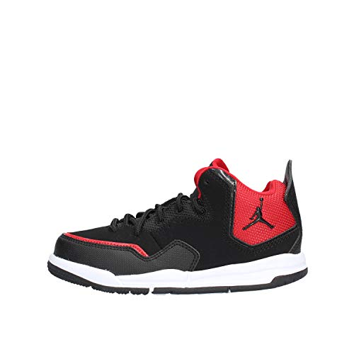 Nike Jordan Courtside 23 (PS), Scarpe da Fitness Bambino, Multicolore (Black/Black/Gym Red 006), 30 EU