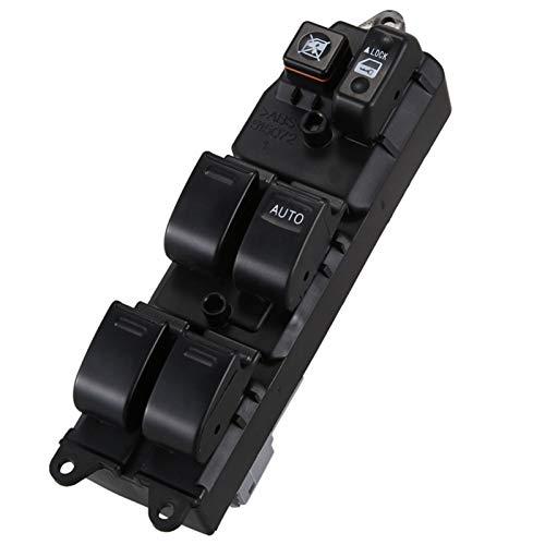 MNBHD Interruptor de Control de Ventana Interruptor de Ajuste de la Ventana de energía eléctrica for Toyota Camry Sienna 84820-AE012 (Color : Black)