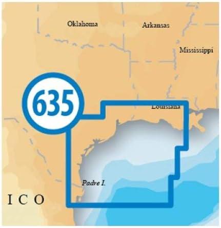 NAVIONICS NAV-MSD/635P+ / Platinum SD 635 West Gulf of Mexico