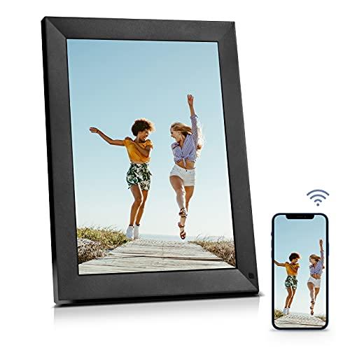 BSIMB Digital Picture Frame-Upgraded Digital Photo Frame 8 Inch 1024x768 Hi-Res Display Electronic Photo Frame