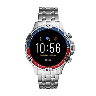 Fossil Gen 5 Garrett HR Heart Rate Stainless Steel Touchscreen Smartwatch, Color: Silver (Model: FTW4040) (B081HQD6N3)   Amazon price tracker / tracking, Amazon price history charts, Amazon price watches, Amazon price drop alerts