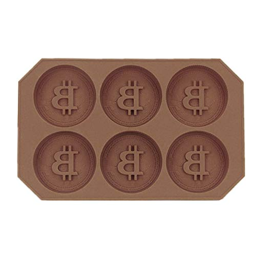 Ice lattice Mold Bar Pudding Jelly Chocolate Maker Mold Ice, Coin-Shaped Ice Candy Chocolate Silicone DIY Mold for Cake