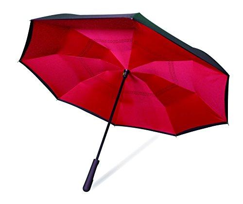 Wonderdry Umbrella 2018 Regenschirm, 79 cm, Rot (Rojo)