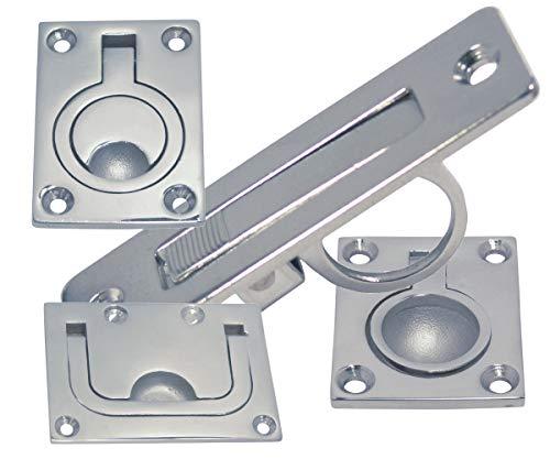 SON Scheinwerfer-Halter Edelstahl-Blech spezielle Ausführung für Brompton