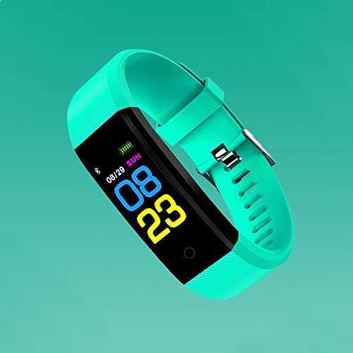 Oyznsb Uhr Smart Watches Smartwatch Armband Band Für Männer Frauen Damen Weiblich Mädchen Aktivität Sport Sport Fitness Tracker Led Digital, Mint Green