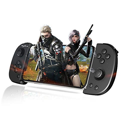 Mobile Game Controller, PXN P30 Wireless Phone Gaming Controller, Gamepad Supports Mobile Key Mapping for iOS, Android, iPhone