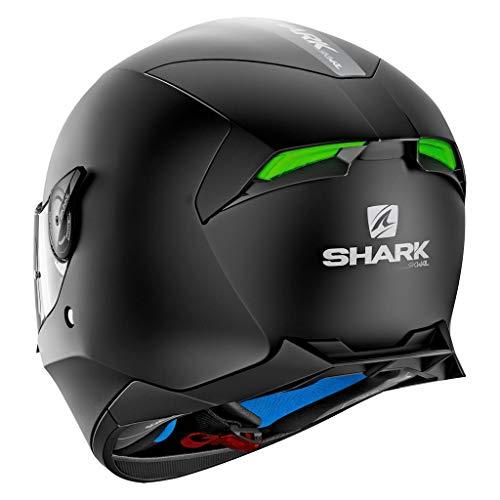 Shark Unisex-Adult Full Face Helmet (Matte Black, L - 59-60 cm - 23.2-23.6