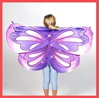 Cozy Wings by Jay at Play Purple Butterfly - Wrap Around Magic Wings Keep Kids Warm & Cozy for Naptime, Playtime, or Anytime – Size Fits Most Kids