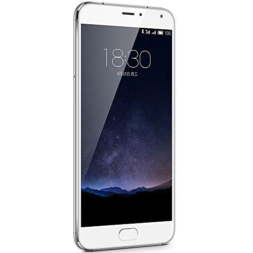 Meizu PRO5SW64GB Pro 5 14,5 cm (5,7 Zoll) Smartphone (Exynos 7420 Octa-Core Prozessor) Silber/weiß