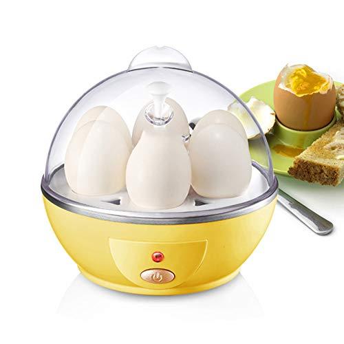 Cocina de huevo Cocedor de Huevos Eléctrico, Hervidor de huevo de acero inoxidable Hervidor de huevo eléctrico Hervidor de huevo silencioso con apagado automático Capacidad 6 Capacidad adecuada