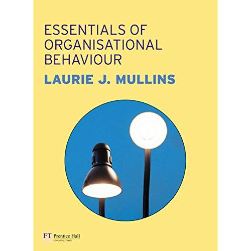 VangoNotes for Essentials of Organisational Behaviour, 1/e cover art