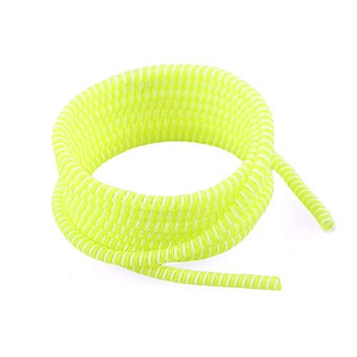 LAIYYI 1pc 1.4m universele kabel beschermer, flexibele veer touw koptelefoon kabel beschermer oplader kabel Saver voor alle mobiele telefoon datalijnen, 4