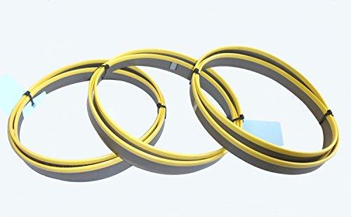 3 x M42 HSS Bimetall Sägebänder Sägeband 2480 x 27 x 0,90 mm 10/14 ZpZ Edelstahl