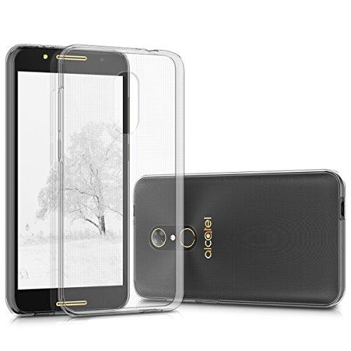 kwmobile Alcatel A7 Hülle - Handyhülle für Alcatel A7 - Handy Case in Transparent
