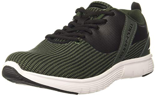 Woodland Men's Running Shoe-9 UK (43 EU) (10 US) (SGC 3277919_Olive/Black)