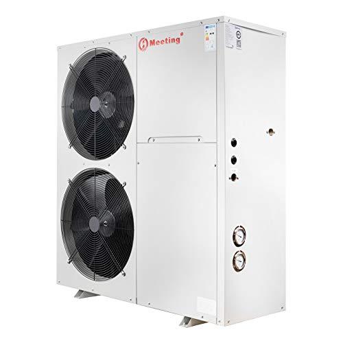 Meeting MD50D Luft Wasser Wärmepumpe Luftwärmepumpe 18 KW Neuware(Standard (weiß),Ohne Brauchwassermodul (D),R417A)