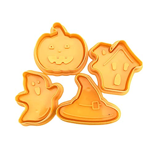 For Sale! AWEPOL Halloween Silicone Cake Mold Chocolate Baking Fondant Mould DIY Tool Tray (YE, A)