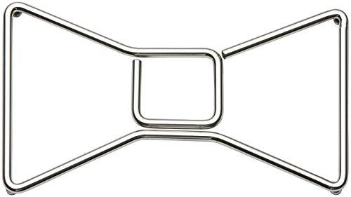 KATE SPADE Deco Dot Bow Trivet, 0.70 LB, Metallic