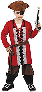 DISBACANAL Disfraz Capitan Pirata niño - Único, 8 años ...