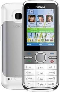 كاميرا نوكيا سي سيريز C5-00 بدقة 5 ميجابكسل - لون أبيض (مفتوح) هاتف نوكيا C5-00