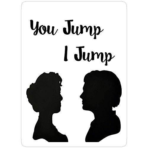 DKISEE 3 Stück Aufkleber Titanic – You Jump, I Jump, Titanic Aufkleber für Laptop, Telefon, Autos, lustige Aufkleber für Laptops, Gitarre, Kühlschrank 10,2 cm
