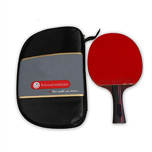 Great Features Of JYL Ping Pong Paddle, Professional Training Table Tennis Racket with Soft Sponge R...