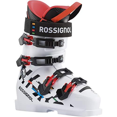 Rossignol Hero World Cup 110 SC Botas de esquí, Unisex-Youth, White, 25.5