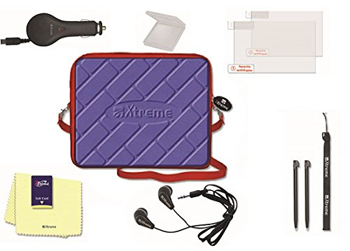 Xtreme 95481 Travel Kit 10 in 1 tas auto oplader met 2 USB-uitgangen, Nintendo NDS
