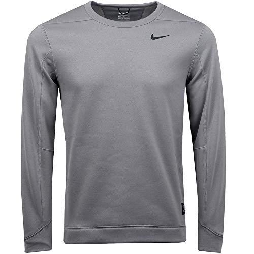 Nike Therma Repel Top Crew Golf Sweater 2019 Gunsmoke/Black Small-T