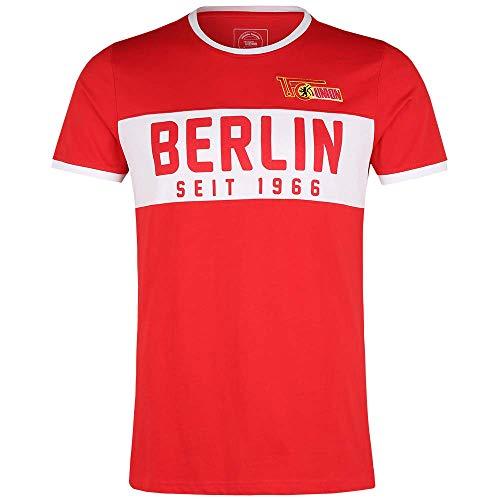 1. FC UNION Berlin T-Shirt Berlin 1966 Rot (M)