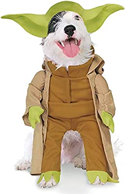 Star Wars Yoda with Plush Arms Pet Costume Large from Rubies Decor