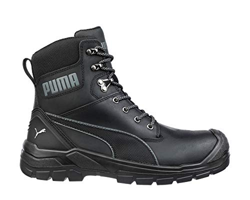 PUMA Safety Men's Conquest CTX High EH WP Boot, Black - 11.5 W US