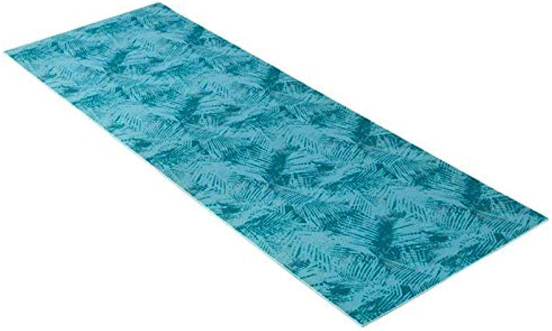 LXMBox Platz Yoga-Matte Faltbare Meditationsmatte, Rutschfeste Teppich, Fumatte, Dance Fitness Mat - für Mnner und Frauen, 173  61 cm, Blau