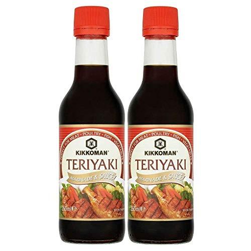 Kikkoman Teriyaki - Adobo (250 ml, 2 unidades)