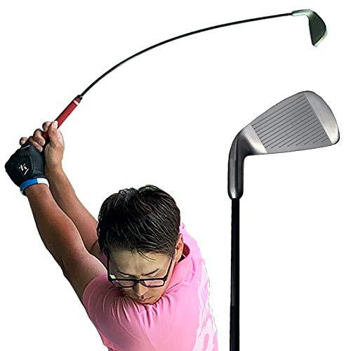スイング精度練習器具 コントロールアイアン ふにゃふにゃシャフト 技術向上 ゴルフ スイング 練習器具