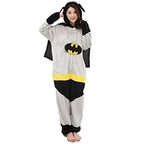 JXILY Pijama de Animales, Anime One Piece Pijamas Batman Cartoon Cosplay o...
