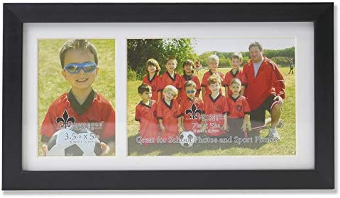 Lawrence Frames Class Team Picture, Two Opening Frame, Black