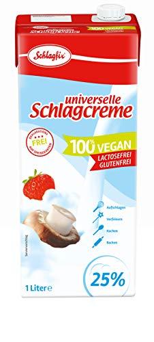 Schlagfix Krem na bazie tłuszczu roślinnego, 1000 ml