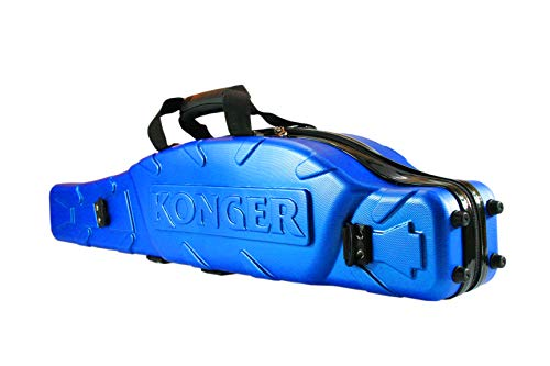Konger Combo - Funda rígida para caña de pescar (90 x 130...