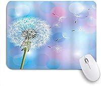 マウスパッド 個性的 おしゃれ 柔軟 かわいい ゴム製裏面 ゲーミングマウスパッド PC ノートパソコン オフィス用 デスクマット 滑り止め 耐久性が良い おもしろいパターン (タンポポ柄デジタルプリント)