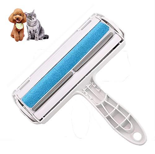 Rodillo para depilación de mascotas - reutilizable, para perros, gatos y otras mascotas, para limpiar pelusas, fácil de limpiar y quitar pelusas de muebles, ropa,alfombras,sofás y ropa de cama