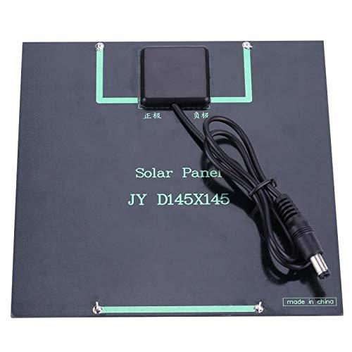 Socobeta Práctico panel solar ahorro de energía para camping 6V