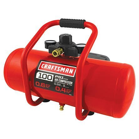 Craftsman CM 3 GAL OIL FREE COMPRESSOR WITH 7 PIECE...