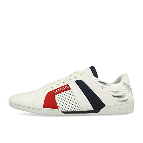 Lacoste Mens 739CMA0072042_45 Sneakers, White