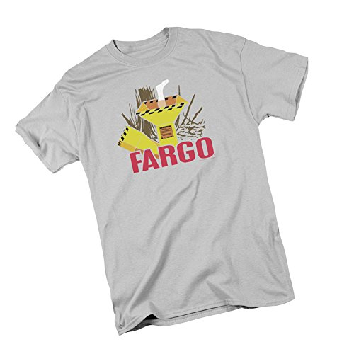MGM Wood Chipper - Fargo Adult T-Shirt, Large Silver
