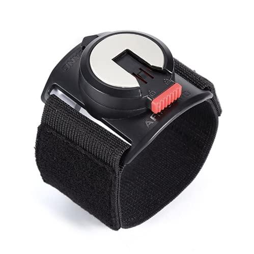 Brazalete para smartphone universal, anillo para pegar detrás del teléfono, rotación de 360 grados, brazalete running, ciclismo, equitación, tenis, escalada, color negro