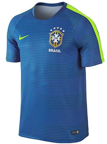 NIKE Confederación Brasileña de Fútbol 2015/2016 - Camiseta Oficial, Talla M