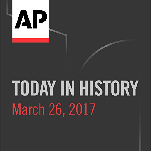 Today in History: March 25, 2017 cover art
