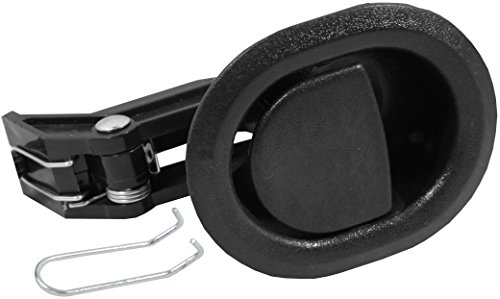 Reliable Recliner Replacement Parts HANDLE COMES WITH CABLE HOOK Small Oval Black Plastic Pull...